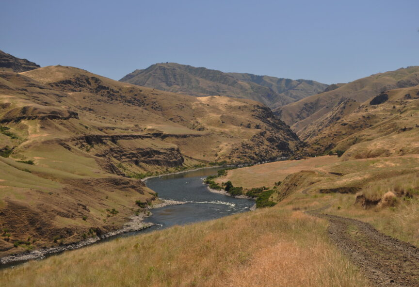 Snake River, Roger Peterson/USFWS